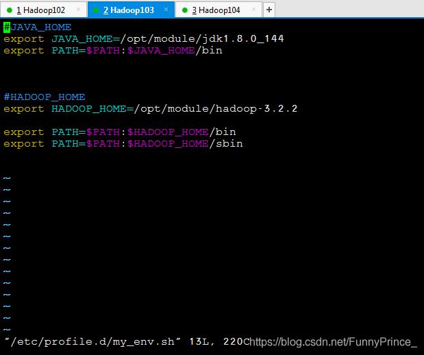 Hadoop--xsync分发脚本