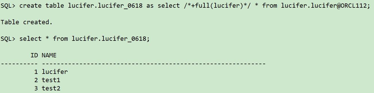 通过dblink恢复数据