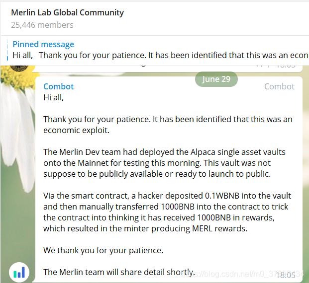 Merlin Labs攻击事件复盘分析 | 零时科技