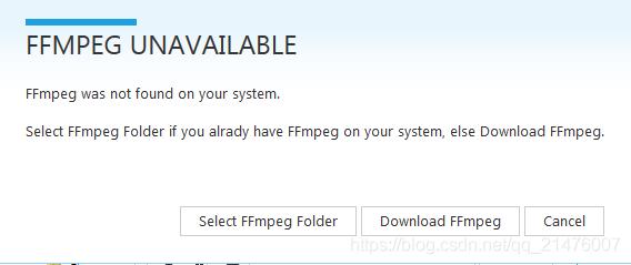 安装FFmpeg