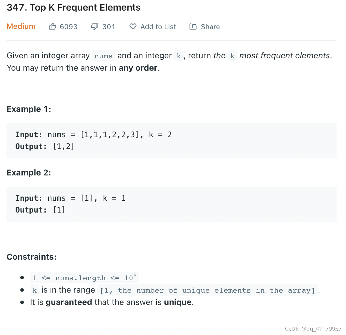 9/26:记得重做。平衡二叉树,两数相除,minimum cost ticket[dp], top k frequency element