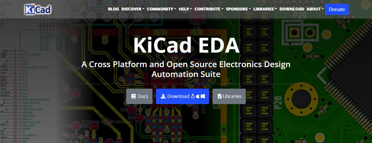 KiCad首页
