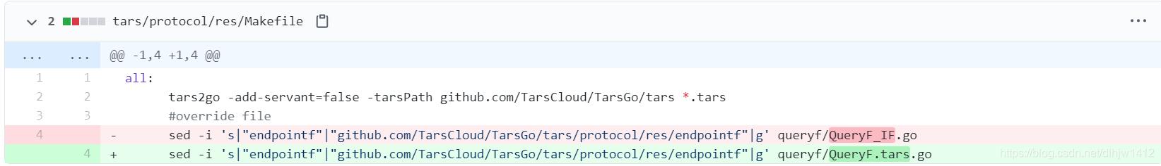 TarsGo自动生成代码