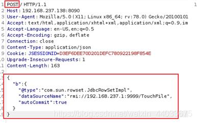 fastjson1.2.24 反序列化导致任意命令执行漏洞(CVE-2017-18349)