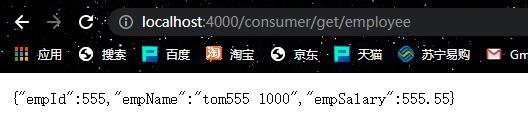 端口号:1000的Provider