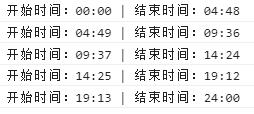 javascript 根据 次数,计算24小时次数的 平均 时分秒时间 精确到分钟