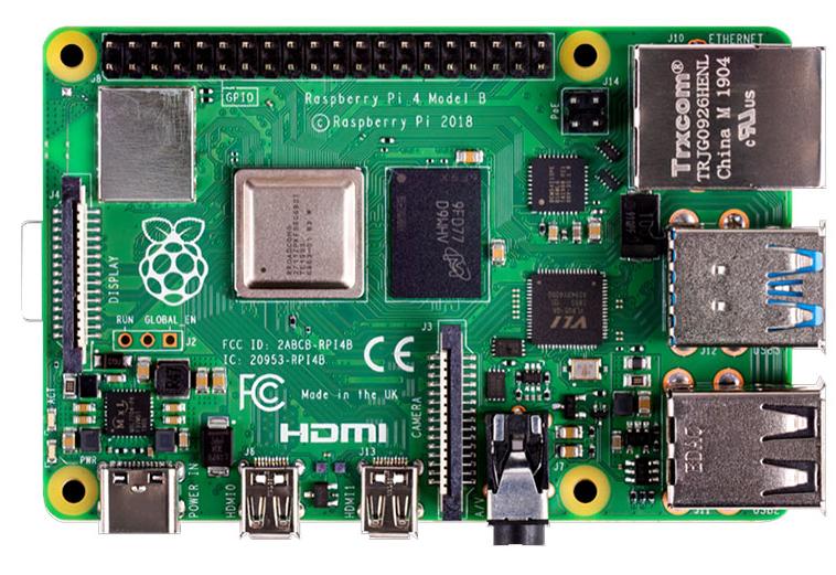树莓派4B开发板