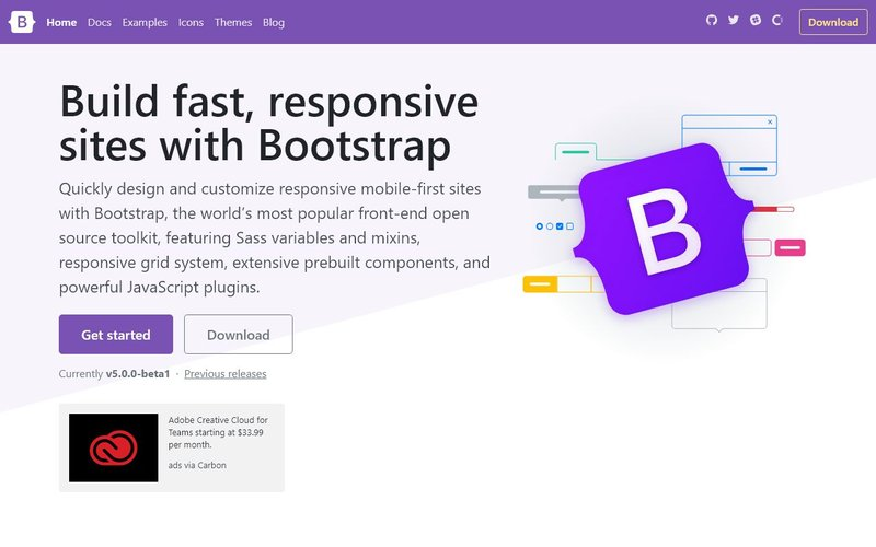 Bootstrap 最受欢迎