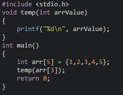 数组元素函数参数