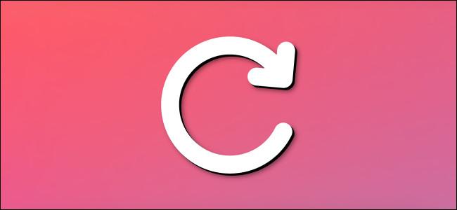 A generic browser reload arrow