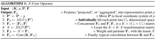 X-Conv算法流程