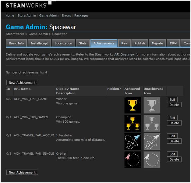 摘自steam官方文档