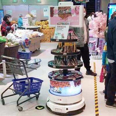 思岚科技智慧货架机器人已应用于生鲜、超市等地