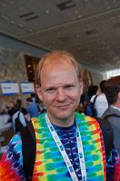 Erik Meijer,Tye染料专家。图片由Ade Oshineye提供。根据CC-BY-SA许可
