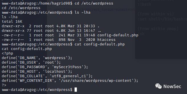 vulnhub_HARRYPOTTER: ARAGOG (1.0.2)