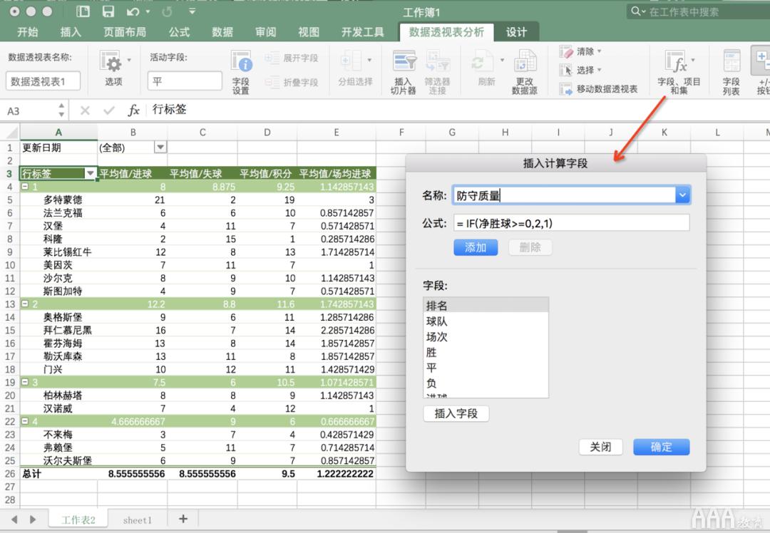数据分析Excel必备技能有哪些