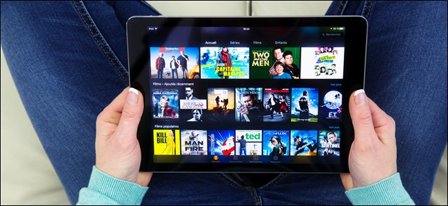 Amazon Prime Video on Tablet