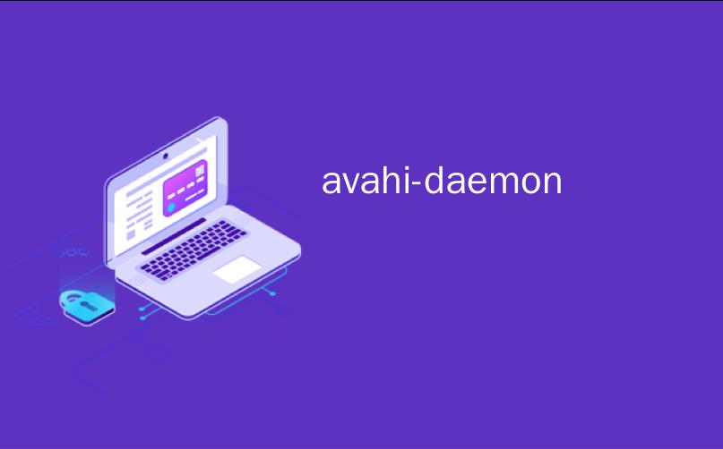 avahi-daemon
