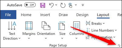 Icon to open dialogue box