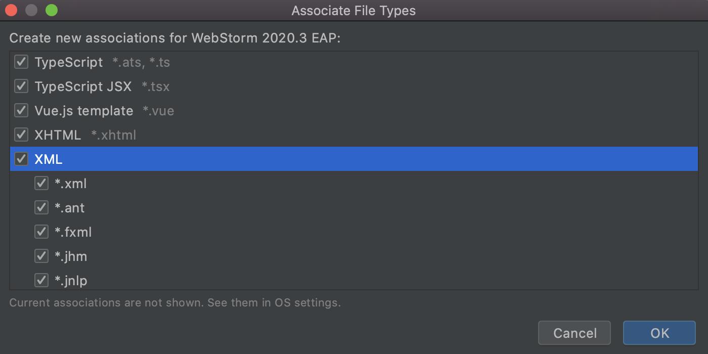 设置文件类型关联WS-2020-3