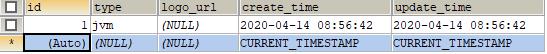 更新id=1的表数据
