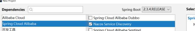 引入 Nacos 客户端