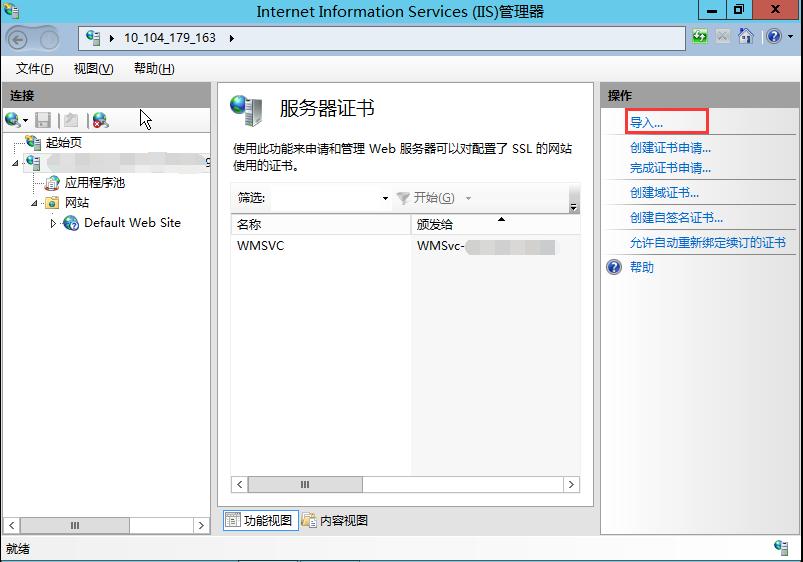 导入_SSL_SEO优化