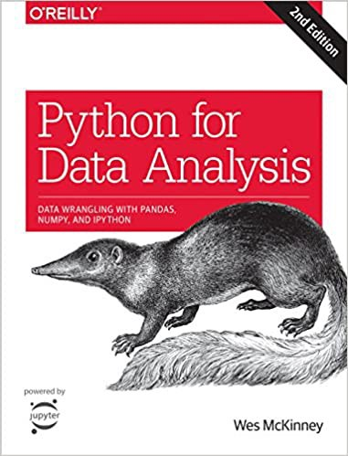 Python for Data Analysis   Source: Amazon   Best Data Science Books   Data Science Books