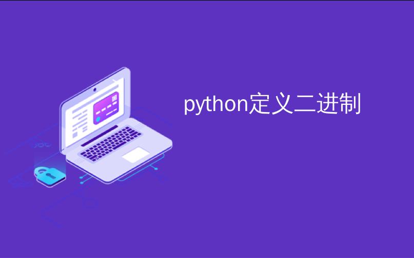 python定义二进制