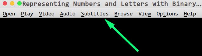 Mac/Linux/Ubuntu下 视频 显示双语/中英字幕 的方法