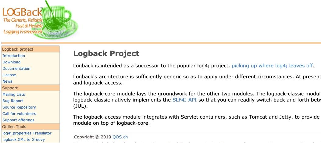 logback