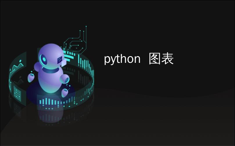 python  图表