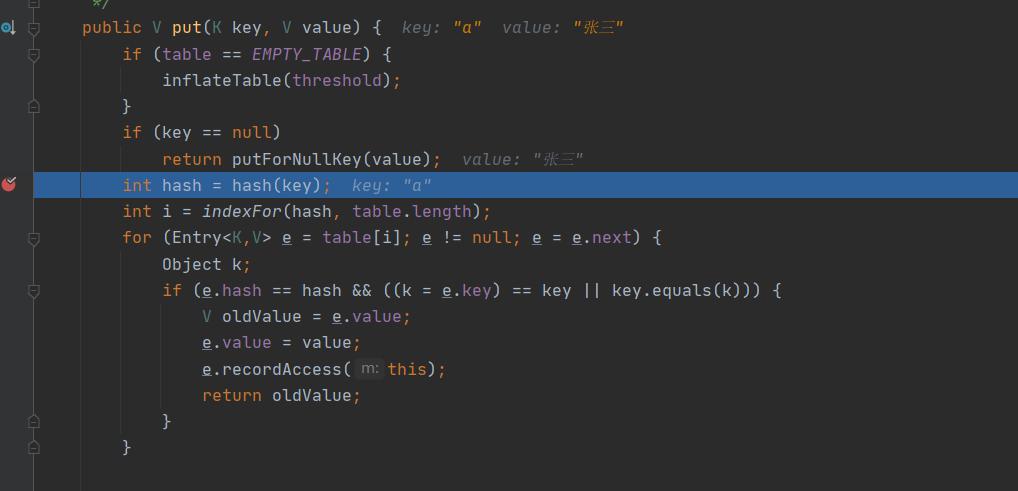 直接调用hash方法计算hash值