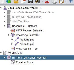 JMeter记录控制器