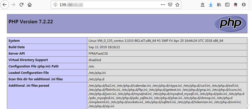 php安装成功