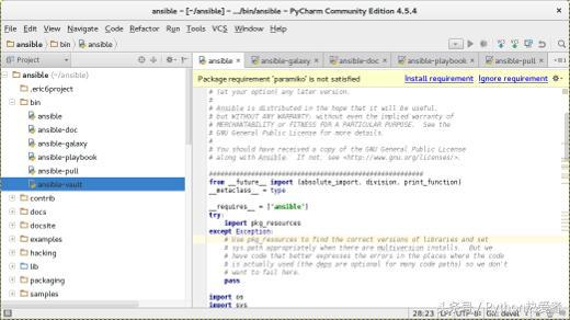 排名前三的python 开源 IDE