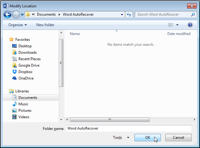 06_selecting_new_autorecover_location