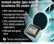 TI推出最新无传感器无刷直流电机驱动器