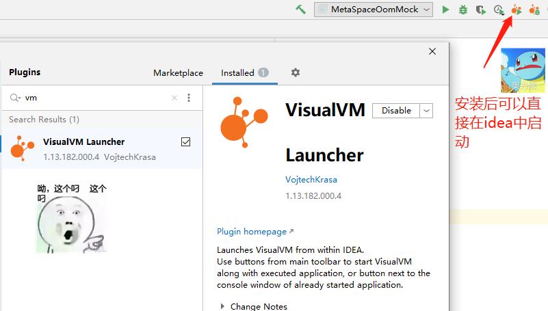 VisualVM IDEA安装