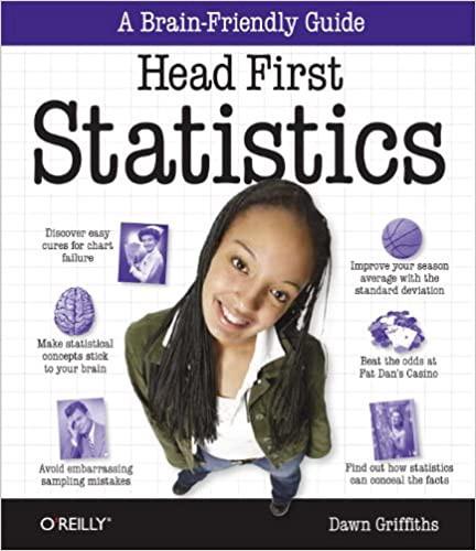 Head First Statistics   Source: Amazon   Best Data Science Books   Data Science Books