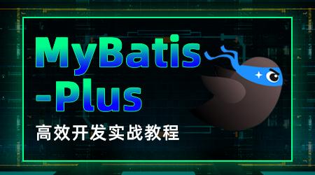 MyBatis-Plus视频教程