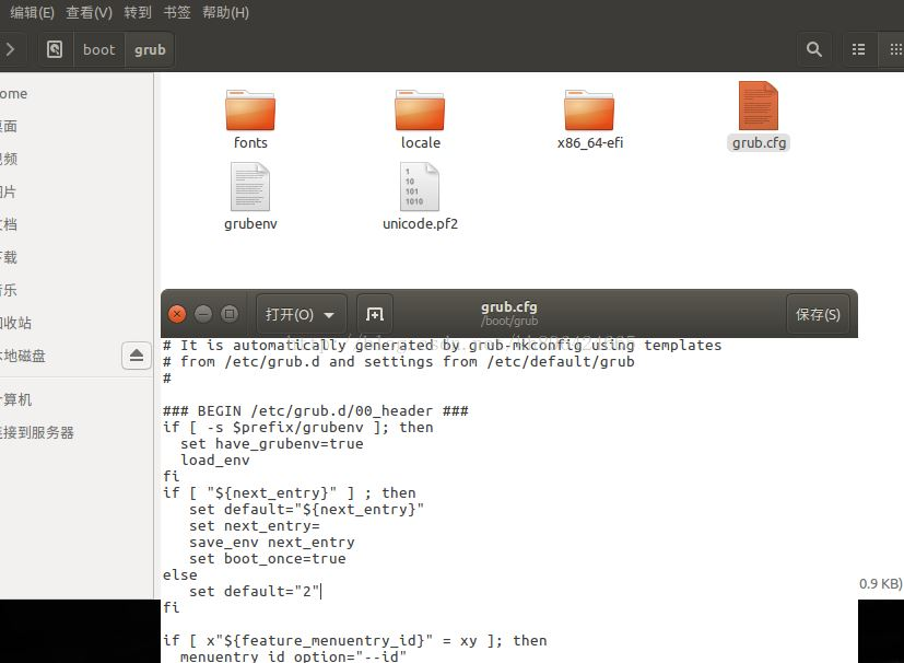 Ubuntu16.04与windows10双系统修改开机启动项顺序的方法