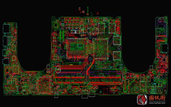 DELL XPS 15 9570 LA-G341P DDP00/DDB00 REV 1.0(A00)戴尔笔记本点位图