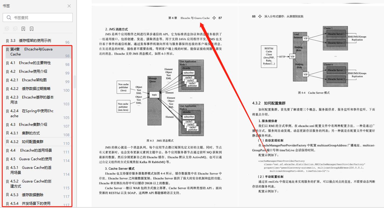 阿里大牛纯手撸深入分布式缓存笔记(基础+开源框架+应用案例)