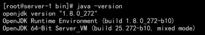 Nacos 要求 JDK8 以上版本