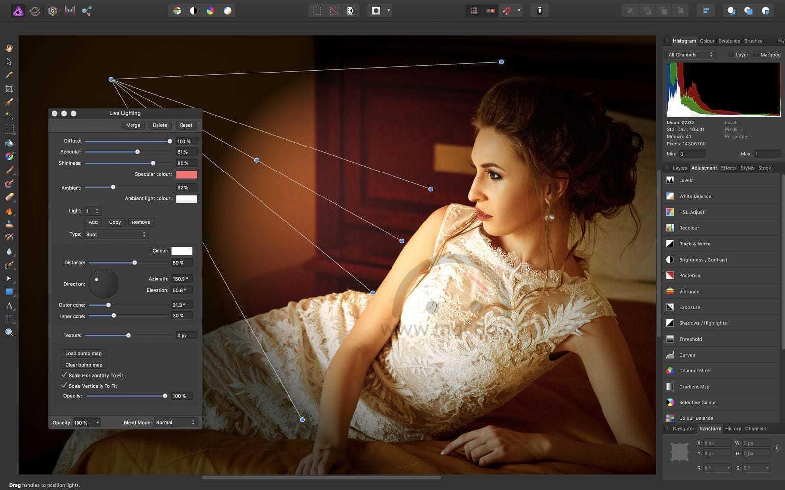 Affinity Photo Beta 1.9.0.199 专业级修图软件 图片处理 第2张