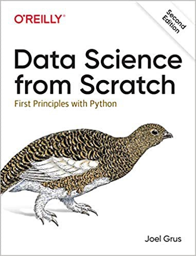 Data Science from Scratch   Source: Amazon   Best Data Science Books   Data Science Books