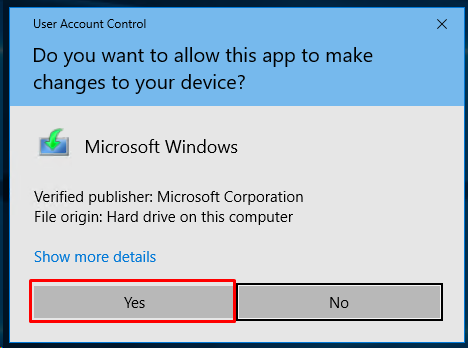 Start Windows 10 Media Creation Tool